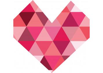 Beautiful Heart Design Wall Decals