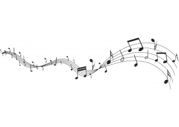 Beautiful Music Notes Wall Decals