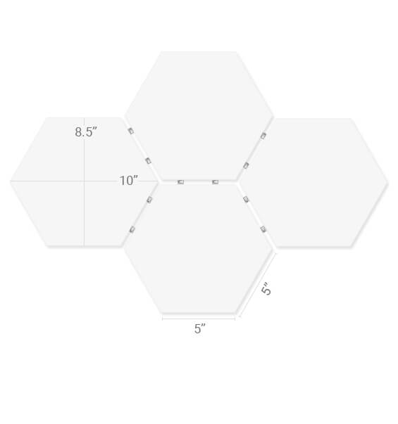 Best Quality Hexagon Prints