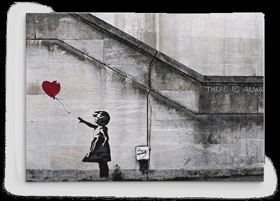 Banksy Canvas Prints