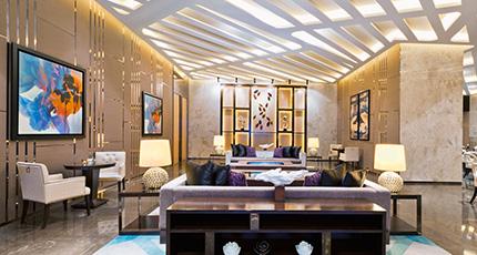 Buffet in Building - Buffet Wall Art