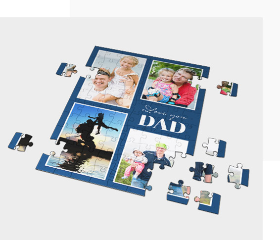 Make a Collage on the Photo Puzzle