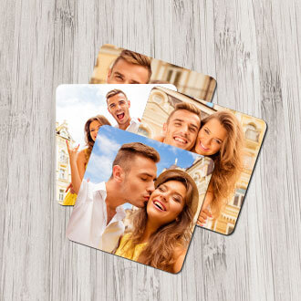 Metal Photo Magnets