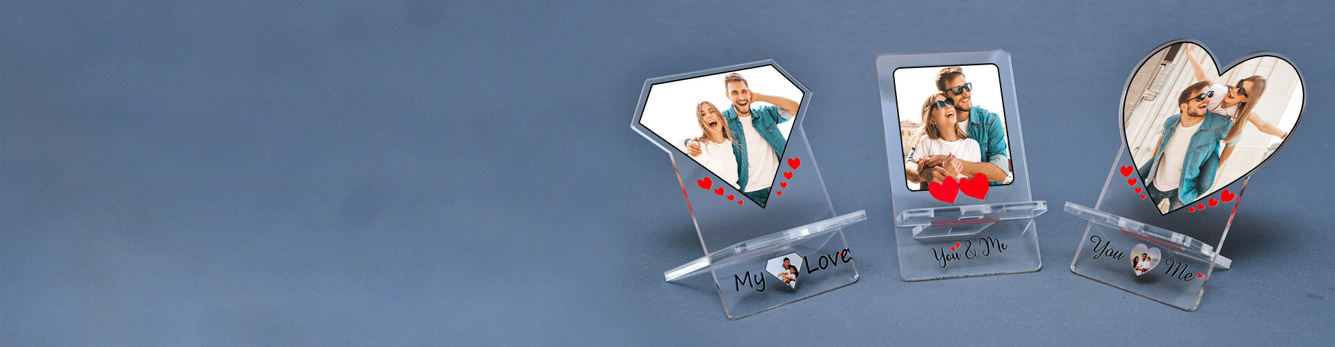 Custom Photo Mobile Stands