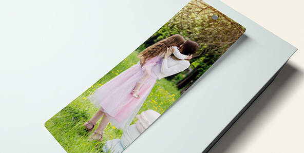 Personalised Bookmarks for Business Promotions