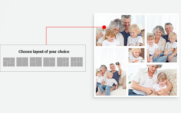 Choose layout of your choice