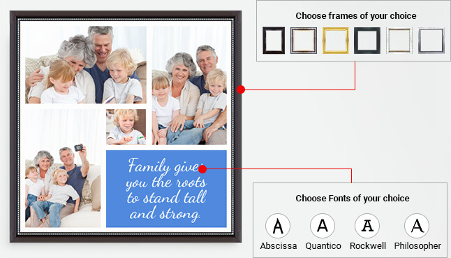 Choose frames of your choice