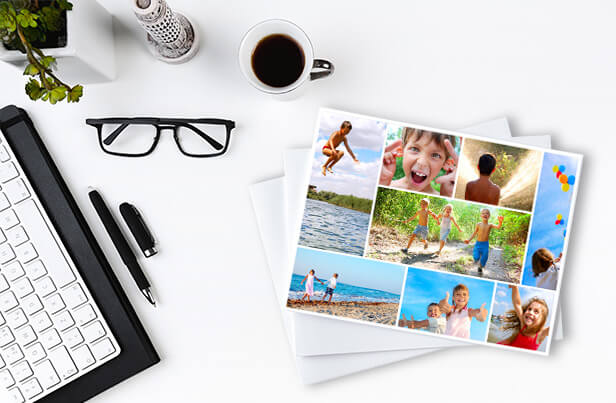 Bring the past into the future with photo collage prints