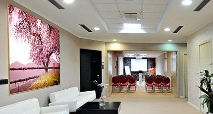 Luxury lobby for five stars hotel - five stars hotel lobby Wall Art