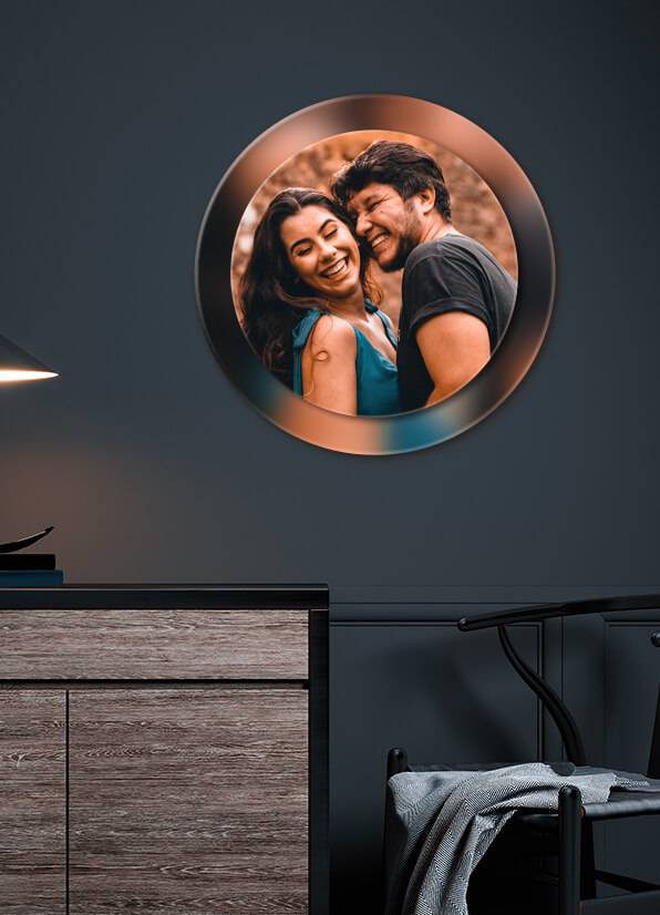 Get a Double Layer Acrylic Frame that Lasts Your Memories Forever