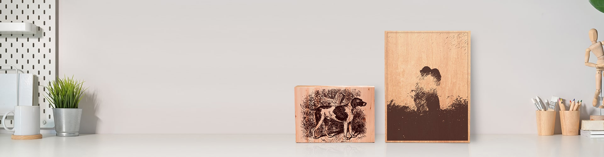 Engraved Wooden Plaques