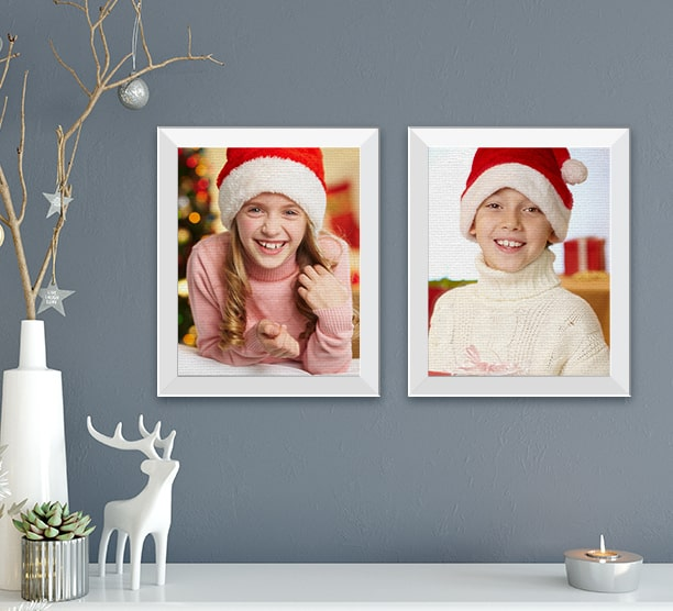 Make any Framed Canvas Print Become a Gift!