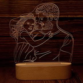 Photo 3D Lamp
