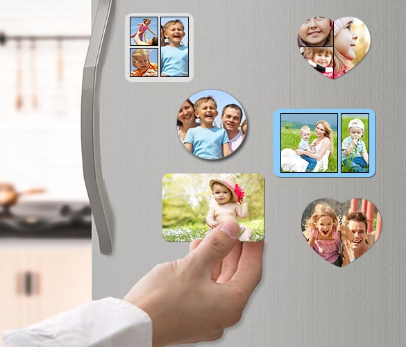 Custom Photo Magnets