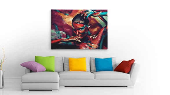 We produce the highest quality Canvas Prints available