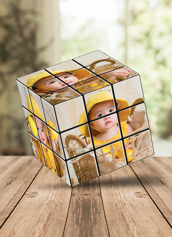 Personalize Rubik Cube as a Perfect Gift