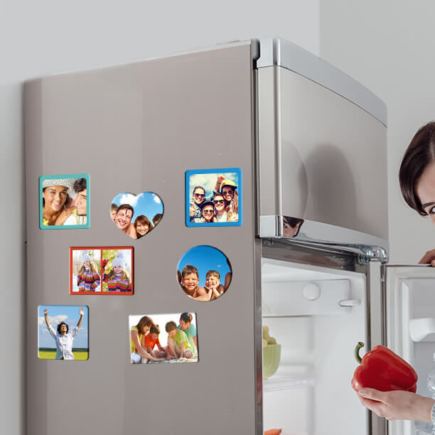 Print Custom Photo Magnets